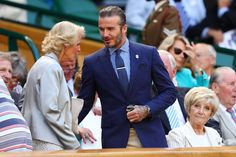 """[link url=""""http://www.gq-magazine.co.uk/article/david-beckham-hair-tattoos""""]David Beckham[/link] arrives in the Royal box impeccably turned out in [link url=""""http://www.gq-magazine.co.uk/shows/autumnwinter-2017-menswear/ralph-lauren""""]Ralph Lauren[/link]. The American take on classic British style works wonders for him."""