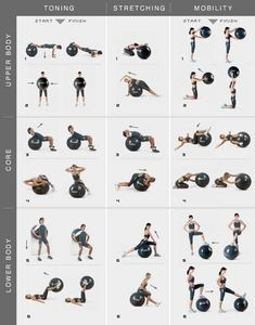 Yoga ball exercises by haybail4