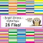 Dress up your materials and/or products with this bright and colorful set of digital papers!  These papers can be used in your classroom or in prod...