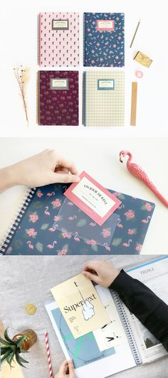 Scrapbook or store beloved photos, magazine pages, mementos from travels and outings, and even keep important documents in the beautiful Un Jour De Reve A4 File Holder! Simply lovely.