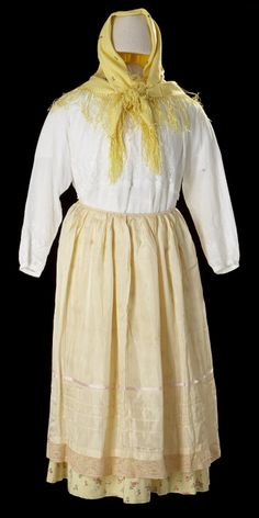 Doukhobor Woman's Traditional Outfit  Date: first half of 20th century