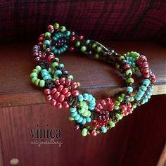 vinica / Imer - micromacrame bracelet