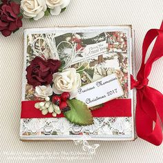 Playing With Ribbon: A Christmas memory book ...