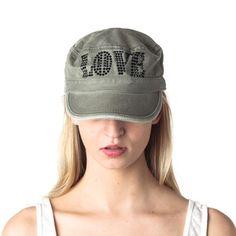 LOVE Crystal Cadet Olive Black, $29,  by Brokedown !!