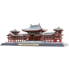 Byodoin Phoenix Hall, Japan - Asia / Oceania - Architecture - Paper CraftCanon CREATIVE PARK - Free 3D Paper Crafts