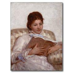 Mary Cassatt - The Reader (La lectrice) - 1877 Post Cards