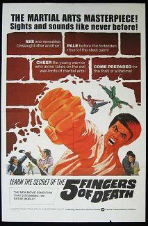 [VOIR-FILM]] Regarder Gratuitement Five Fingers of Death VFHD - Full Film. Five Fingers of Death Film complet vf, Five Fingers of Death Streaming Complet vostfr, Five Fingers of Death Film en entier Français Streaming VF Kung Fu Movies, Martial Arts Movies, Five Fingers, Chuck Norris, France, Quentin Tarantino, Bruce Lee, Film Posters, Tiana