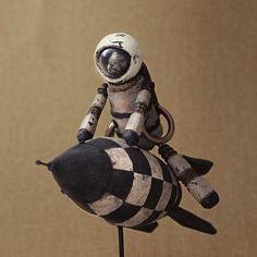 Rocketeer | Cube / Object | Tokoro masayasu | Handmade mail order / sale Creema