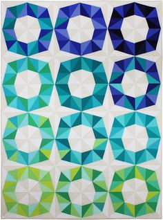 Fractal Block quilt pattern by Patty Sloniger