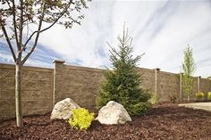 Check out these light weight fencing panels made with a foam core and decorative concrete shell from RhinoRock. Love the Spanish-inspired colors on this one. More about this innovative product here: http://www.landscapingnetwork.com/products/fencing-gates/concrete-panels.html