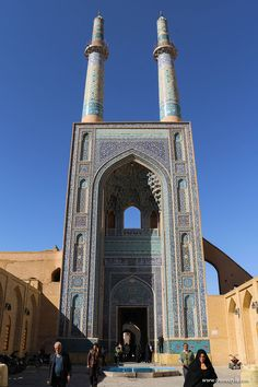 jame mosque of yazd yazd jame mosque yazd  photo essay impressions of photogenic yazd