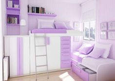 Teen Girl Bedrooms dazzling examples, room decor tip note 5282574316 - Attractive decorating to plan a spectacular and really creative teen girl room. The sensational teen girl bedrooms decorating ideas blue ideas generated on this cool day 20181222 Teenage Girl Bedroom Designs, Girls Bedroom Colors, Bedroom Decor For Teen Girls, Teenage Girl Bedrooms, Teen Bedroom, White Bedroom, Lilac Bedroom, Cozy Bedroom, Bedroom Ideas Purple