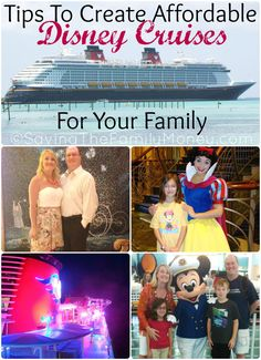 Over 30 Tips To Create Affordable Disney Cruises For Your Family ~ Check out all these tips to save money on a Disney Cruise.
