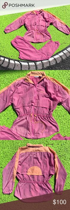 Women's Vintage 2 piece track suit Preown Women VINTAGE RETRO 🙌🏼 Reebok 2 piece track suit. Perfect condition for this awesome vintage piece we have here. No rips, stains, holes, tear or imperfection. From the late 80's-early 90's era. One hell of Reebok track suit. Reebok Jackets & Coats