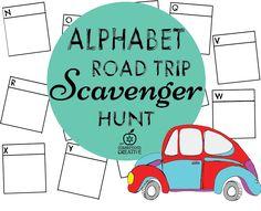 alphabet scavenger h