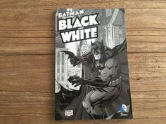 Batman black & white comics