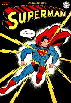 Superman 32. Cover by Wayne Boring. This is one of the great Superman covers.