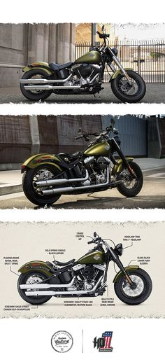 It packs all the punch of our legendary heritage with today's top technology and performance.   2016 Harley-Davidson Softail Slim