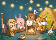 K Wallpaper, Laptop Wallpaper, Animal Wallpaper, Header Tumblr, Jae Day6, Young K, Character Wallpaper, Kpop Fanart, Cute Cartoon Wallpapers