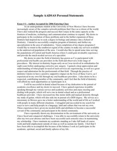 College Personal Statement Sample http://www ...