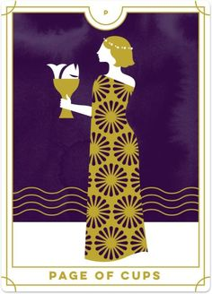 Detailed Tarot card meaning for the Page of Cups including upright and reversed card meanings. Access the Biddy Tarot Card Meanings database - an extensive Tarot resource. What Are Tarot Cards, Online Tarot, Daily Tarot, Tarot Card Meanings, Tarot Readers, Card Reading, Your Turn, Tarot Decks, Card Games