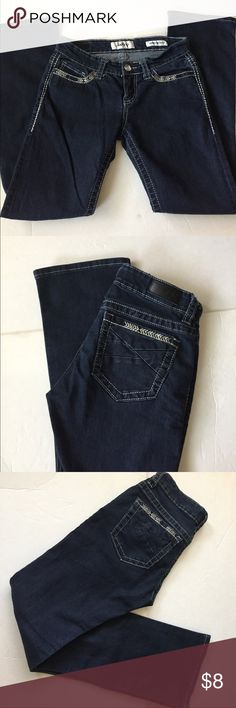 Lady's Scorpio bootcut jeans Made of 82% cotton ,17% polyester , 1% spandex Daytrip Jeans Boot Cut