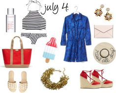 FOURTH OF JULY LOOKS