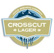 Icicle Brewing Company.Photo of Crosscut Lager (Not available at Bavarian Lodge)