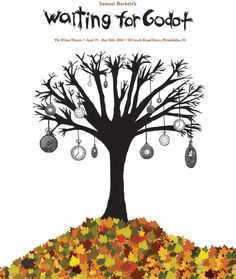 waiting for godot poster - Google Search