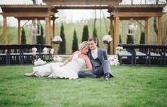 Style shoot at Loudon wedding venue Castleton Farms, photographed by Jennie Andrews | The Pink Bride www.thepinkbride.com