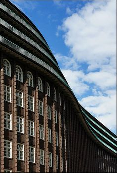 The Chilehaus (Chile House) is a ten-story office building in Hamburg, Germany Copyright: Juan Ferragut