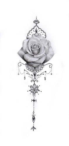 Tricep Tattoos, Body Art Tattoos, Sleeve Tattoos, Rose Tattoo With Name, Rose Tattoo On Back, Pretty Tattoos, Cool Tattoos, Love Life Tattoo, Mago Tattoo