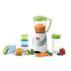 NUK Smoothie and Baby Food Maker, Multicolor