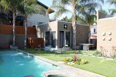 backyard pool in LA via @Gilda Locicero Therapy