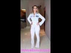 Camisa Jeans Morena Rosa e calça flare jeans claro Lança Perfume - YouTube
