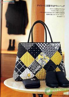 Bolsa Patch | Linda e colorida! Faça com suas cores escolhid… | VIDA CRIATIVA - Costura criativa- Handmade | Flickr