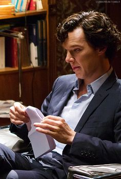 Benedict Cumberbatch lost in thought