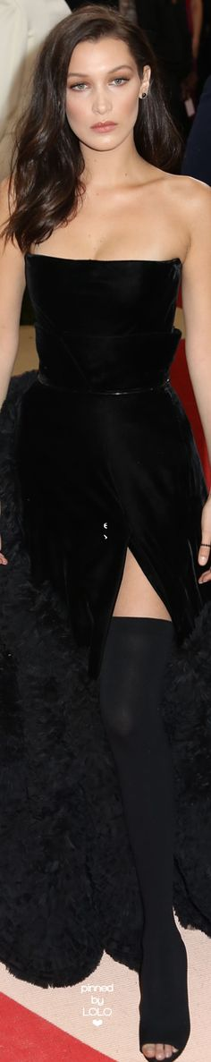 Bella Hadid 2016 MET GALA | LOLO❤︎