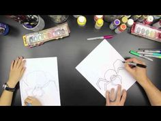 How To Draw A Spider - Art For Kids Hub -