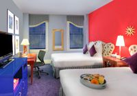 Hotel Triton, San Fran, CA - every room is different!  If you love color come here! #JetsetterCurator
