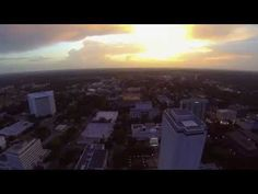 Downtown Tallahassee from the air - YouTube