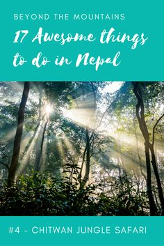 A round up of the best things to do in Nepal – that AREN'T trekking! Check out the rest of the list at Emily Luxton Travels | #nepal