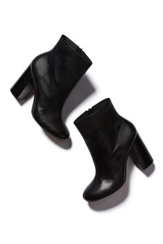 Witchery Block Heel Ankle Boots
