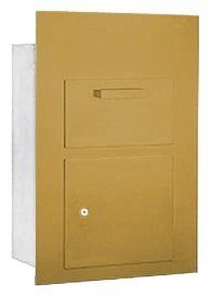 Collection Unit (Includes Master Commercial Lock) - for 5 Door High 4B+ Mailbox Units - Gold - Front Loading - Private Access by Salsbury Industries. $648.17. Collection Unit (Includes Master Commercial Lock) - for 5 Door High 4B+ Mailbox Units - Gold - Front Loading - Private Access - Salsbury Industries - 820996419149