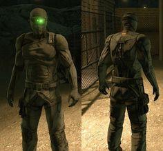 Tom Clancy's splinter cell stealth suit
