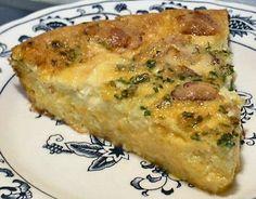 BACON & CHEDDAR QUICHE - Linda's Low Carb Menus & Recipes