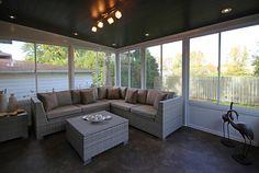 veranda Outdoor Sectional, Sectional Sofa, Outdoor Furniture Sets, Outdoor Decor, Patio, Lattes, Coin, Recherche Google, Home Decor