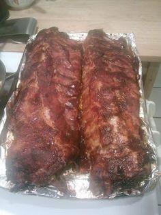 Oven BBQ Ribs! 4.93 stars, 15 reviews. @allthecooks #recipe #ribs #bbq #pork #dinner #oven