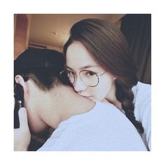 ulzzang couple on Tumblr ❤ liked on Polyvore featuring couples, instagram and kpop