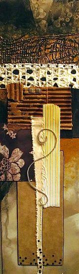 "CAROL NELSON FINE ART BLOG: Mixed Media Contemporary Abstract Painting ""POTPOURRI, 11016"" © Carol Nelson Fine Art"